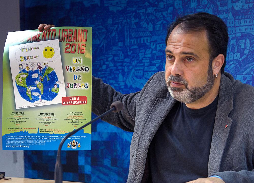 http://www.toledo.es/wp-content/uploads/2016/05/mateo_campamento_verano.jpg. Abierto el plazo de inscripción para el XVIII Campamento Urbano de Verano, que este año amplía su oferta de plazas hasta 430