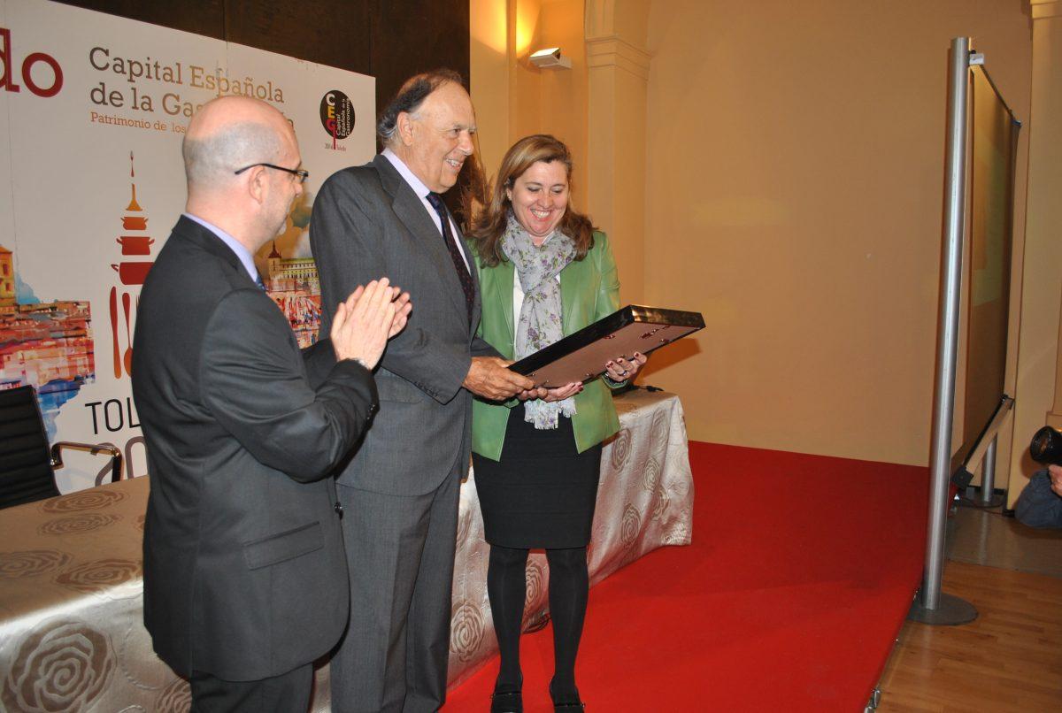 El Marqués de Griñón recoge el premio 'Gastroledo 2016' en San Marcos por su aportación al mundo de la gastronomía y el vino