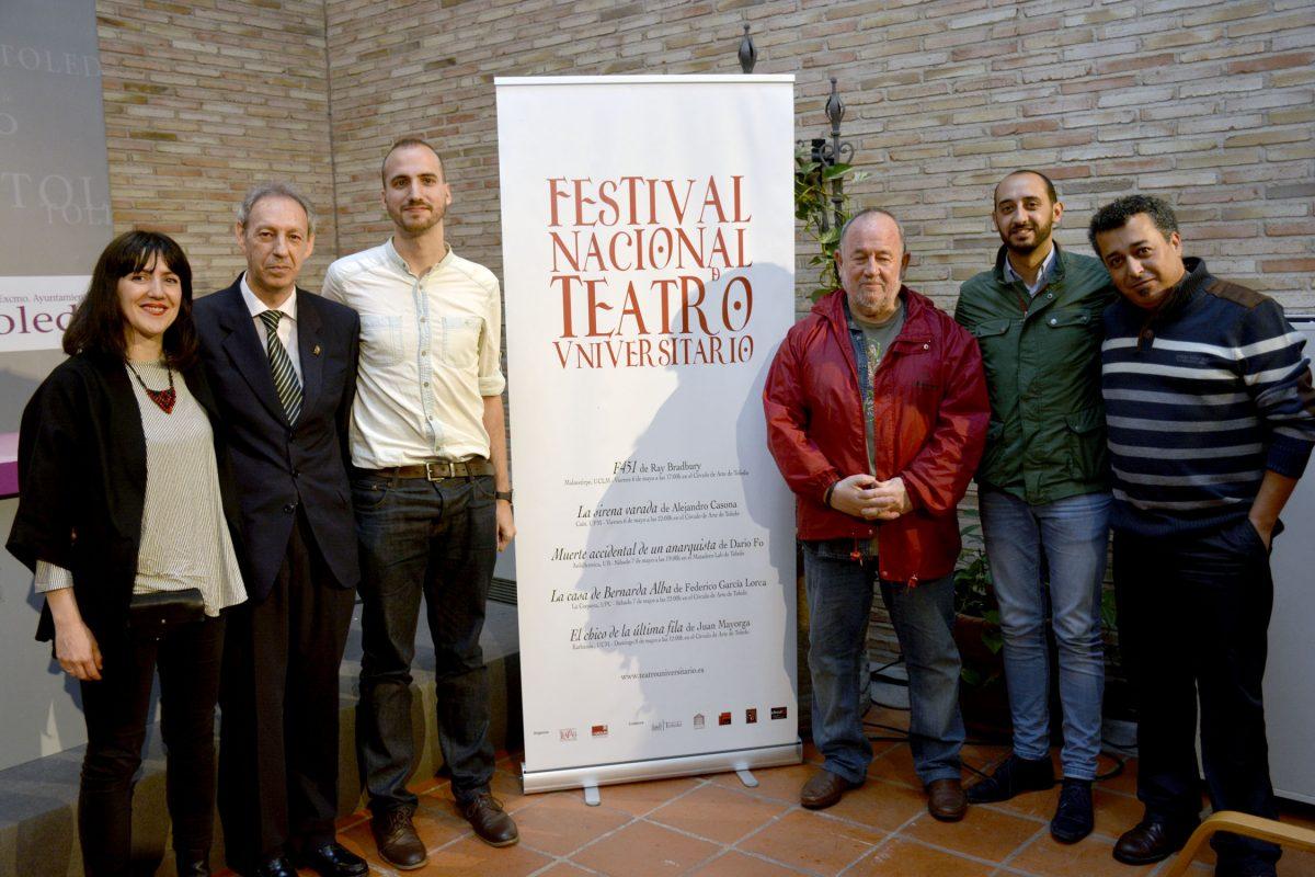Toledo acoge este fin de semana las cinco representaciones del Festival Nacional de Teatro Universitario