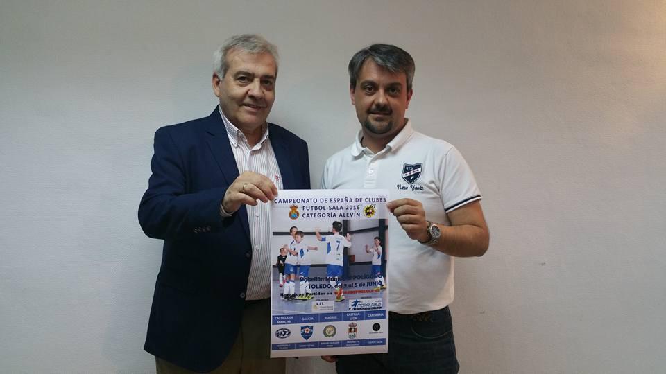 http://www.toledo.es/wp-content/uploads/2016/06/13239074_10153707229037183_5713831486331936196_n.jpg. El Ayuntamiento colabora en la celebración del Campeonato de España de Fútbol-Sala en categoría Alevín que acogerá Toledo