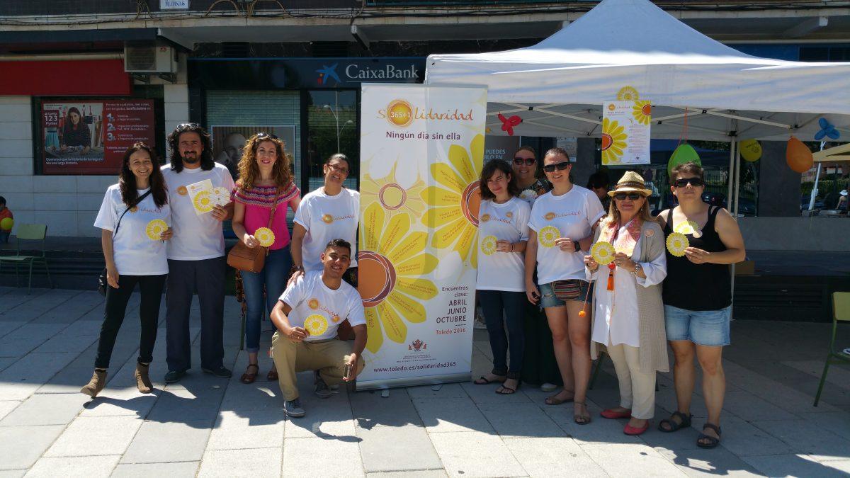 """http://www.toledo.es/wp-content/uploads/2016/06/20160611_122048-1200x675.jpg. El segundo encuentro de Solidaridad 365+1 busca """"un Toledo más empático y solidario"""" con actividades en tres espacios"""