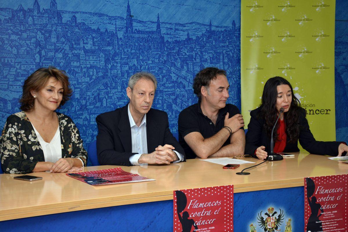 """http://www.toledo.es/wp-content/uploads/2016/06/concierto_vencer_cancer-1200x801.jpg. El Teatro de Rojas acoge este viernes el festival """"Flamencos contra el cáncer"""" para recaudar fondos contra la enfermedad"""
