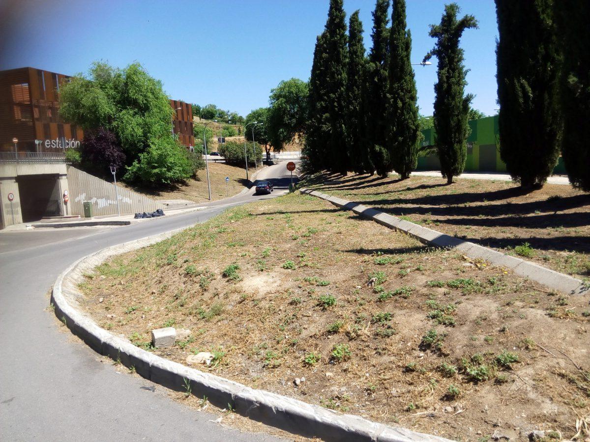 http://www.toledo.es/wp-content/uploads/2016/06/desbroce_safont_dps-1200x900.jpg. El Ayuntamiento procede a la limpieza y desbroce de las zonas ajardinadas del entorno de la Estación de Autobuses y Safont