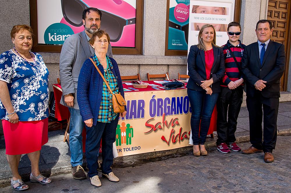 """http://www.toledo.es/wp-content/uploads/2016/06/donantes01.jpg. El Gobierno local reivindica el acto """"sencillo, de generosidad y normalidad"""" que supone la donación de órganos"""