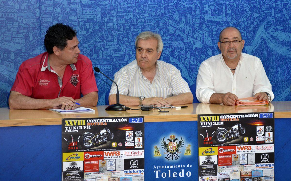 http://www.toledo.es/wp-content/uploads/2016/06/motorclub02-1200x748.jpg. El Ayuntamiento respalda la XXVIII Concentración Motera de Yuncler que llegará a Toledo el próximo 2 de julio