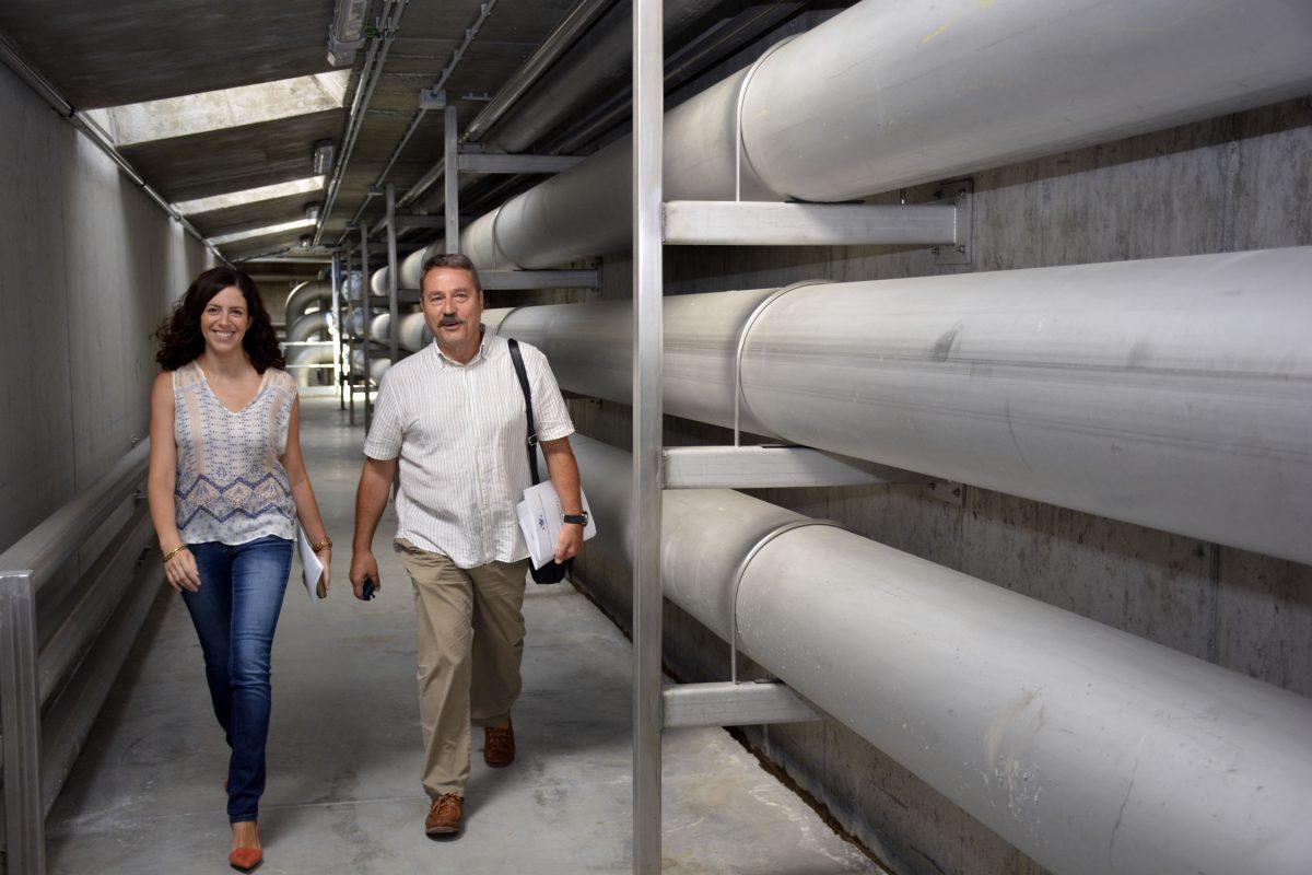 La depuradora de Estiviel, puntera en el tratamiento de aguas residuales, garantiza la protección medioamiental del Tajo