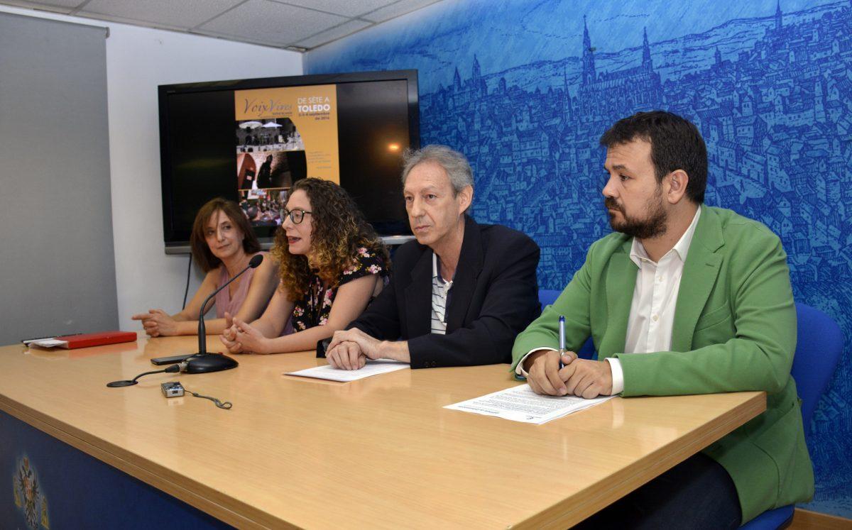 """Toledo será los días 2, 3 y 4 de septiembre la """"ciudad de la poesía"""" con la celebración del Festival Voix Vives 2016"""