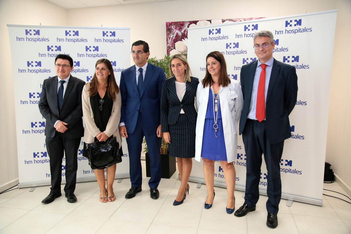 La alcaldesa asiste a la inauguración de las nuevas instalaciones del Policlínico HM IMI Toledo