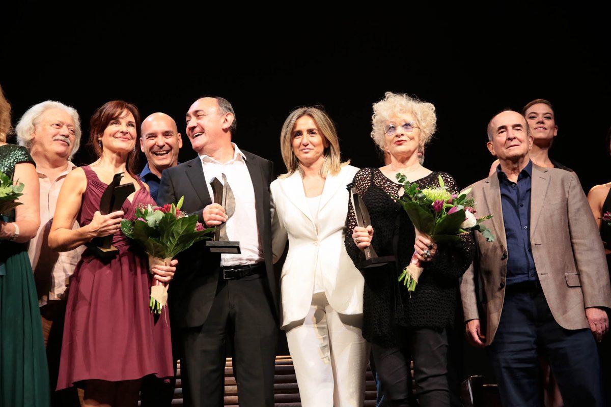 El Teatro de Rojas rinde homenaje a sus intérpretes y directores en la Gala de Entrega de sus premios anuales