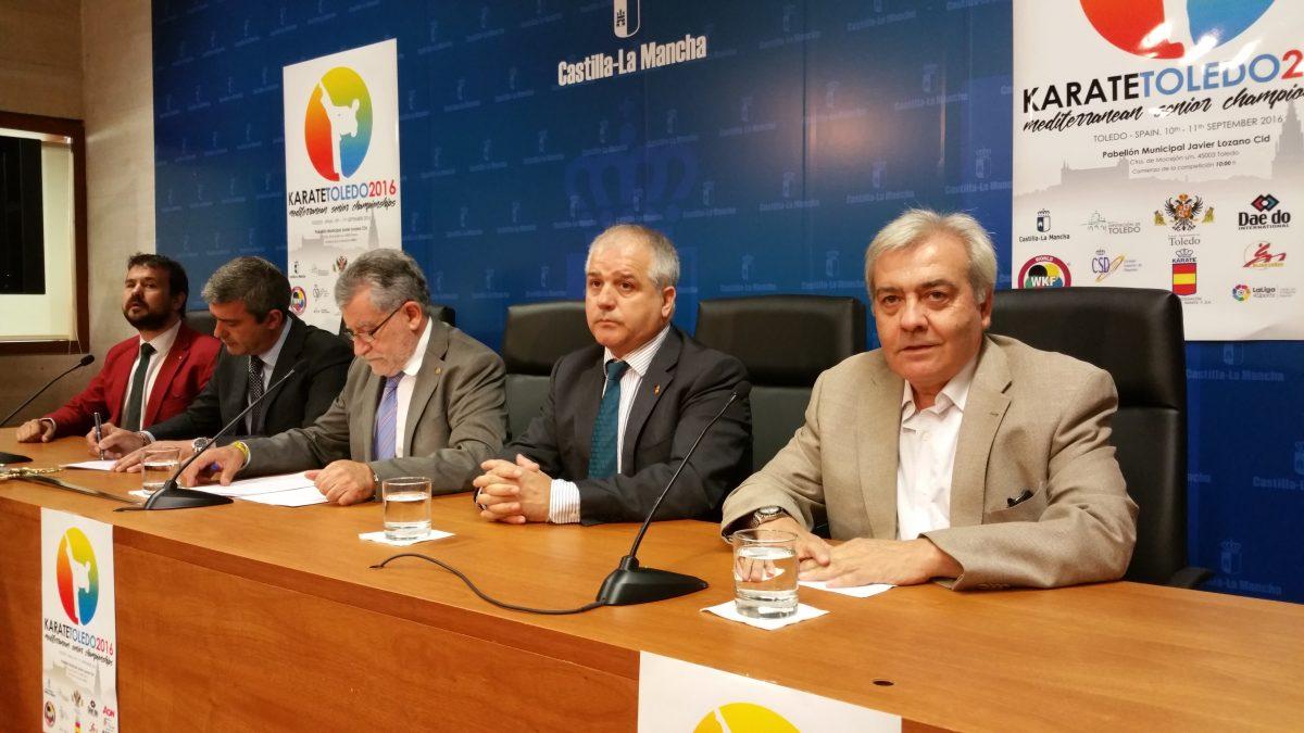 Toledo será epicentro del kárate este fin de semana con el Campeonato Senior de la Unión de Federaciones del Mediterráneo