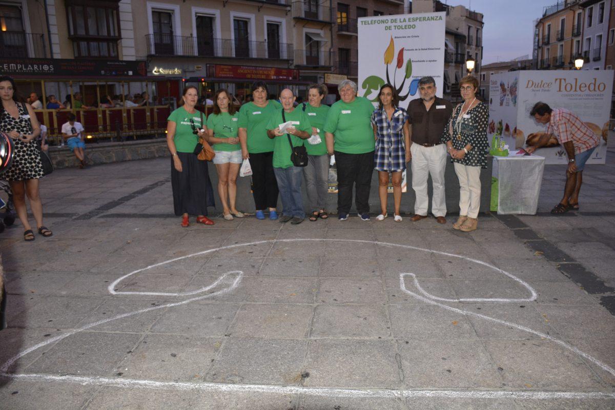 El Gobierno local conmemora el Día Mundial para la Prevención del Suicidio en un acto del Teléfono de la Esperanza