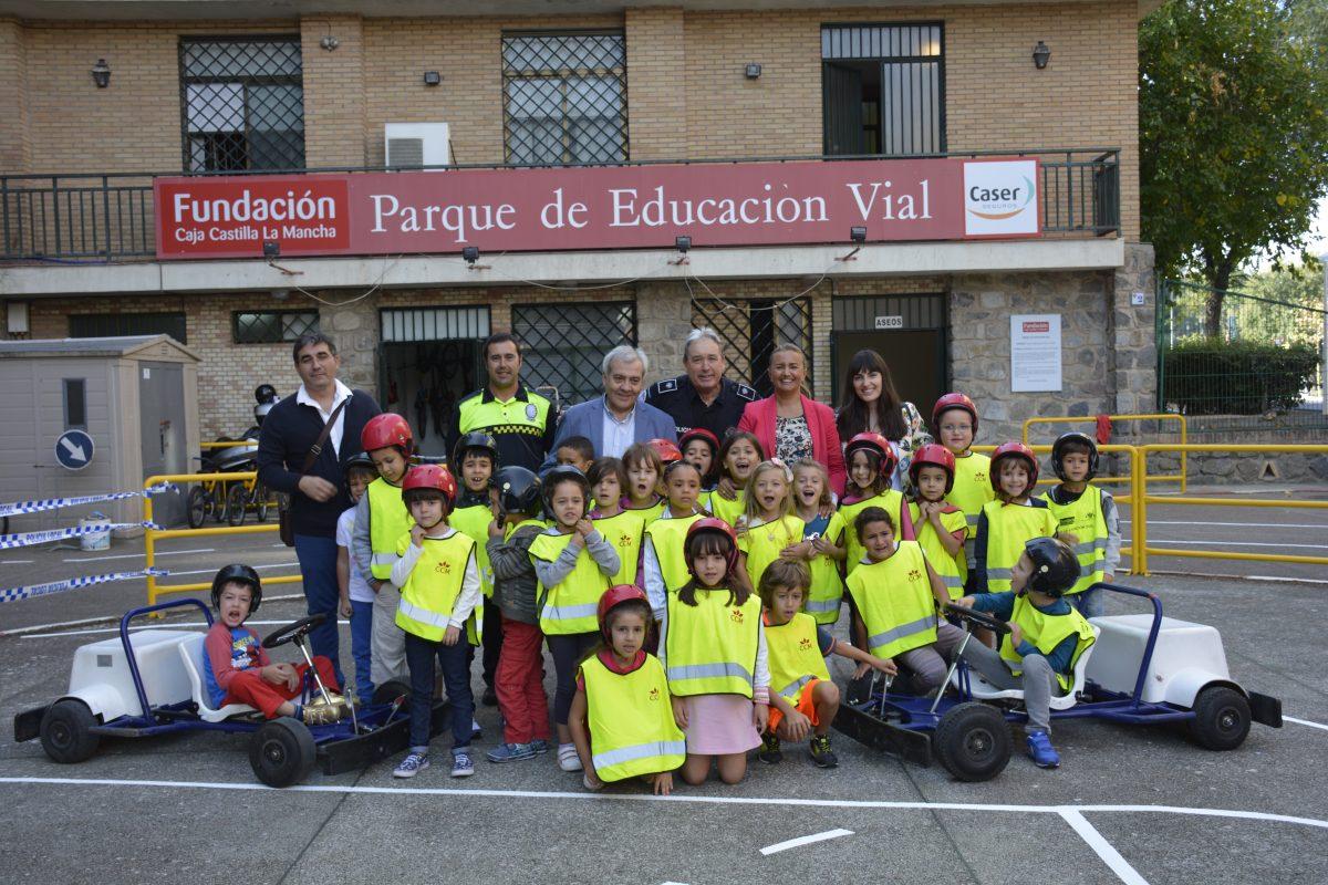 El Gobierno local inaugura la nueva temporada del Parque de Educación Vial en el que participarán 31 colegios hasta junio