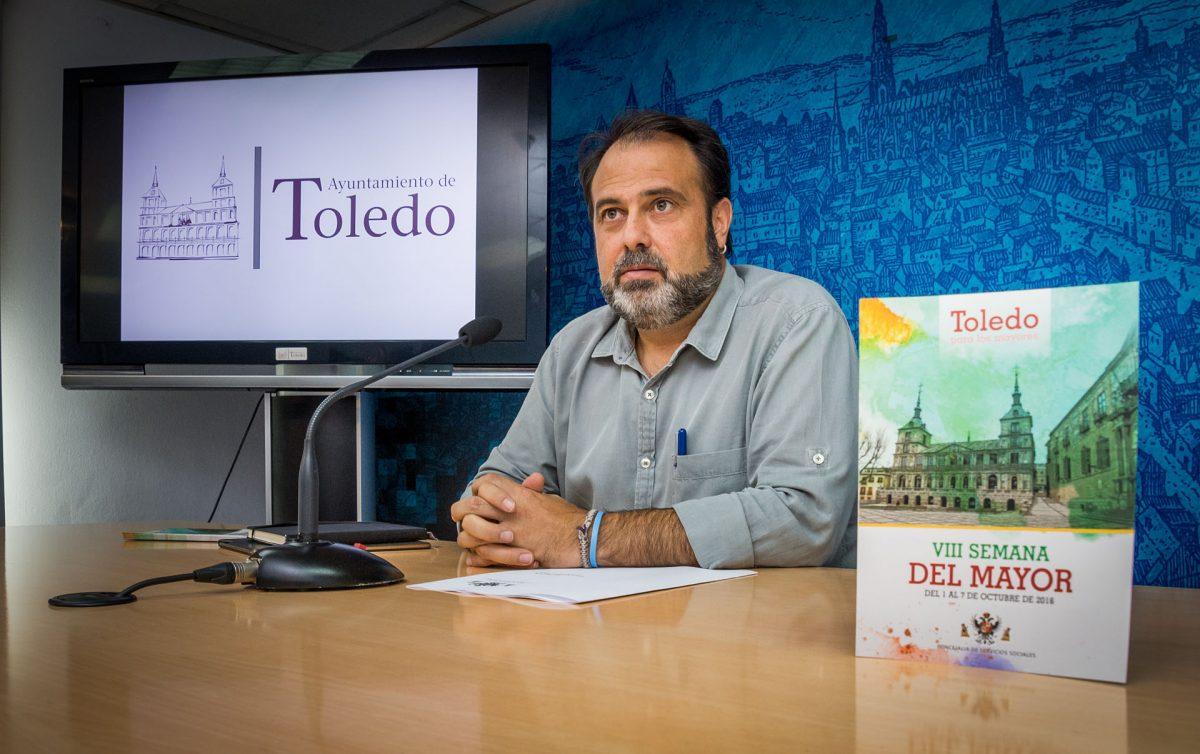 El Ayuntamiento de Toledo organiza del 1 al 7 de octubre la VIII Semana del Mayor con participación abierta a todos