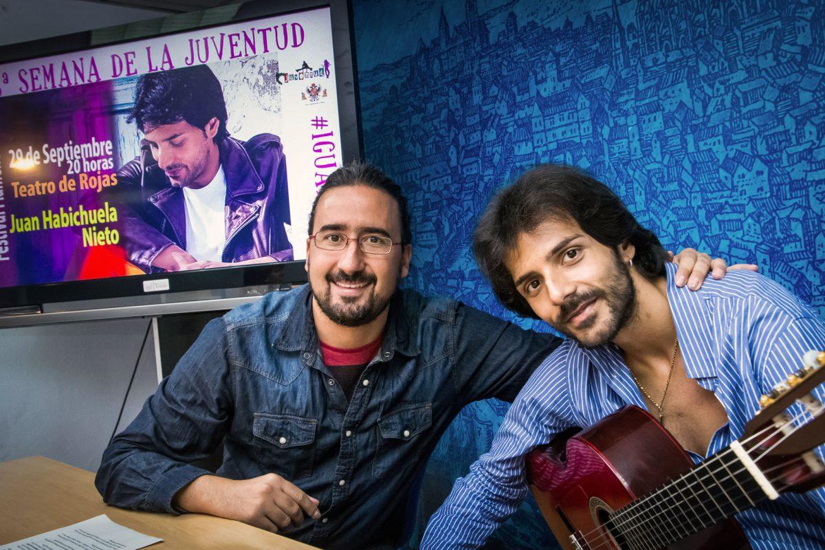 """El Rojas acoge este jueves el concierto de Juan Habichuela nieto """"referencia del flamenco joven y heredero de una gran dinastía"""""""