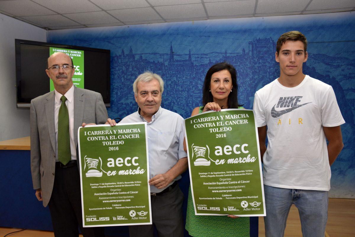 El Ayuntamiento y la AECC colaboran en la I Carrera y Marcha Solidaria de Contra el Cáncer que se celebra el domingo