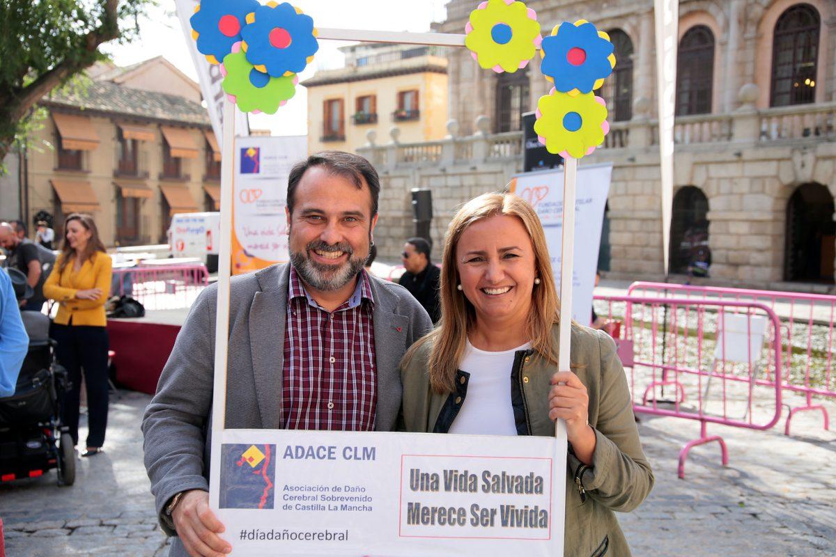 """http://www.toledo.es/wp-content/uploads/2016/10/01-1200x800.jpg. El Gobierno local destaca el papel """"fundamental"""" de ADACE en el seguimiento y acompañamiento de personas con daño cerebral"""