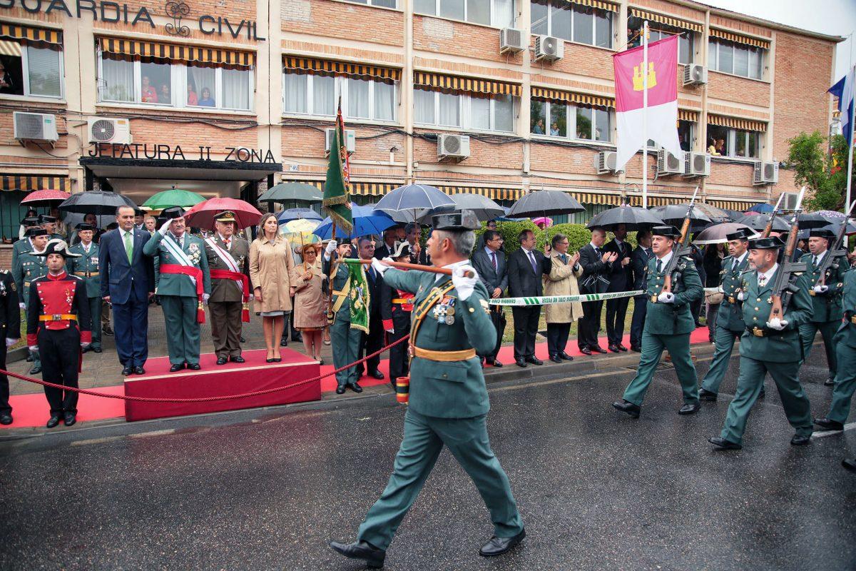 """La alcaldesa de Toledo reivindica en el Día de la Fiesta Nacional """"el gran país que es España"""" y sus """"perspectivas de futuro"""""""
