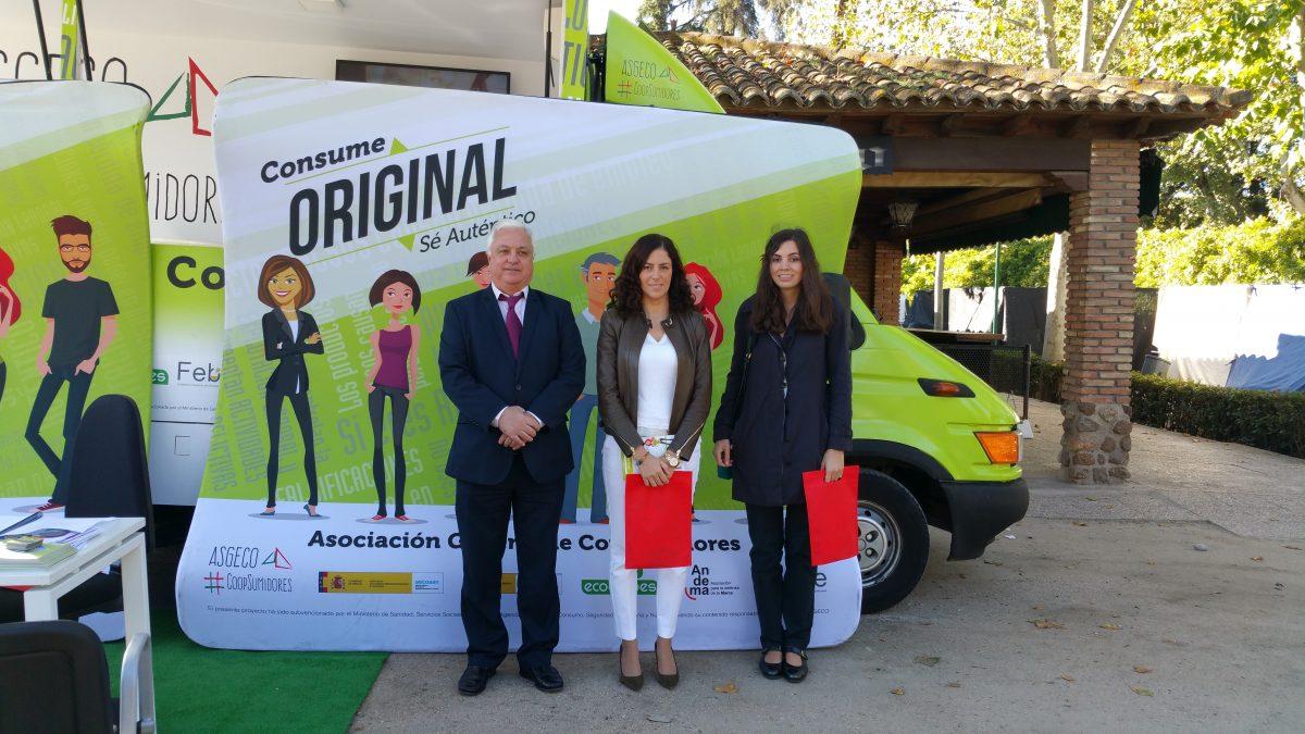 Apoyo del Gobierno local a la campaña 'Consume Original, Sé Auténtico' para un consumo responsable, de calidad y seguro