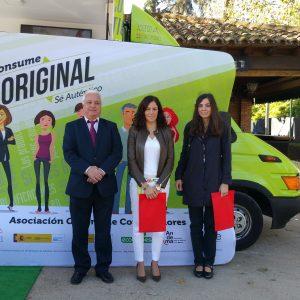 poyo del Gobierno local a la campaña 'Consume Original, Sé Auténtico' para un consumo responsable, de calidad y seguro