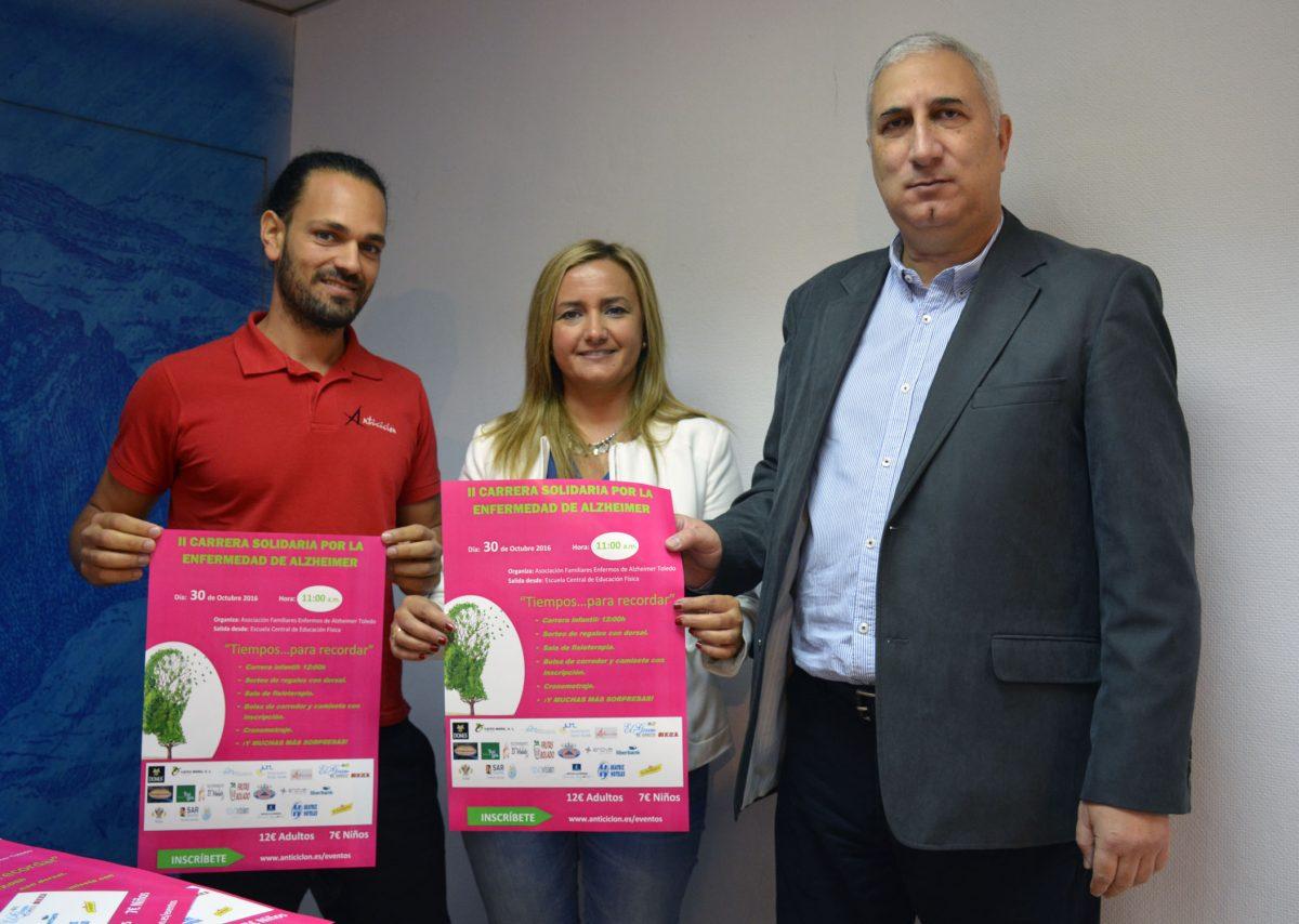 http://www.toledo.es/wp-content/uploads/2016/10/carrera_alzheimer-1200x854.jpg. El Ayuntamiento colabora en la Carrera Solidaria de la Asociación de Familiares Enfermos de Alzheimer que será el 30 de octubre