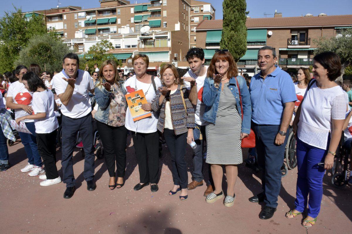 APACE Toledo celebra con un flahmob el Día Mundial de la Parálisis Cerebral con el apoyo del Consistorio