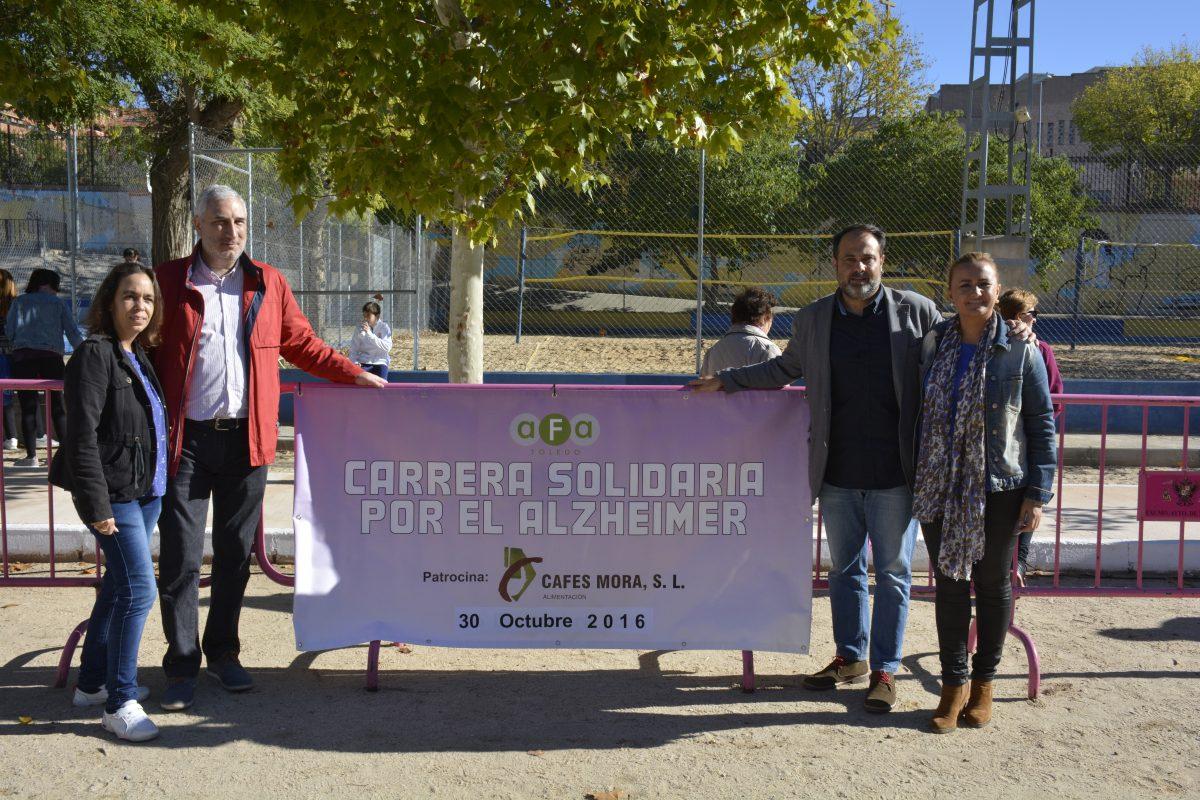 El Gobierno local respalda la II Carrera Solidaria de AFA en la que han participado cerca de 300 personas