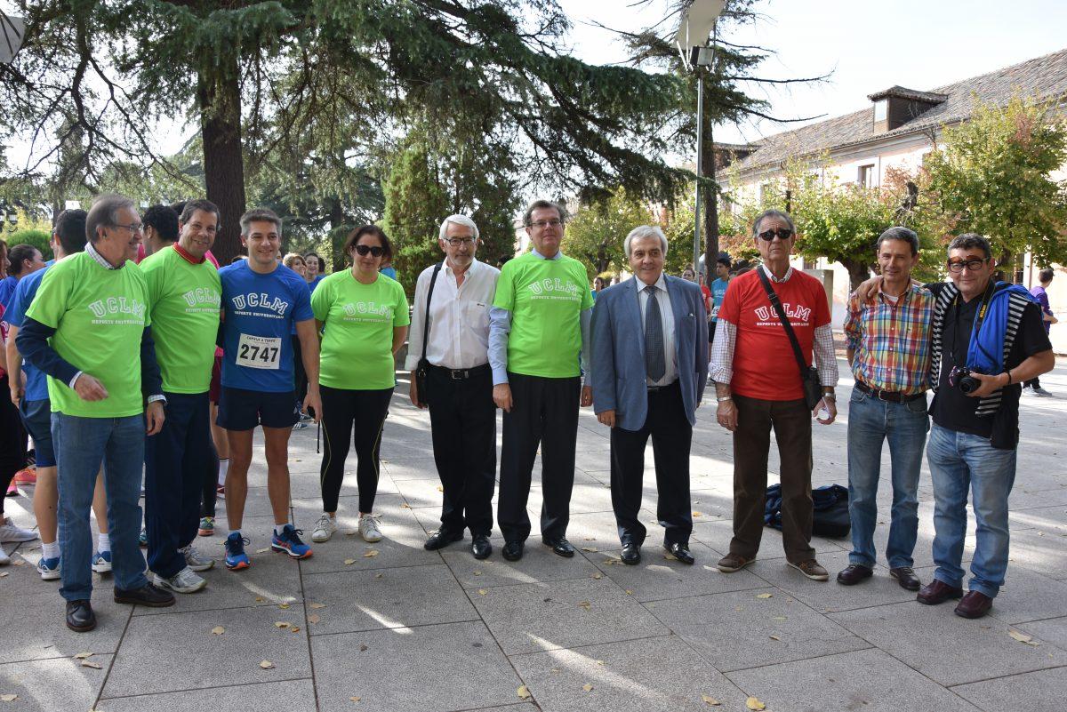 El Ayuntamiento respalda la carrera solidaria 'Campus a Través' cuyos beneficios irán para Cruz Roja y la Delegación Saharaui