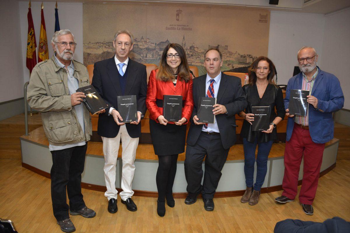 Apoyo municipal en la presentación de las obras completas del poeta Juan Antonio Villacañas, Hijo Predilecto de Toledo