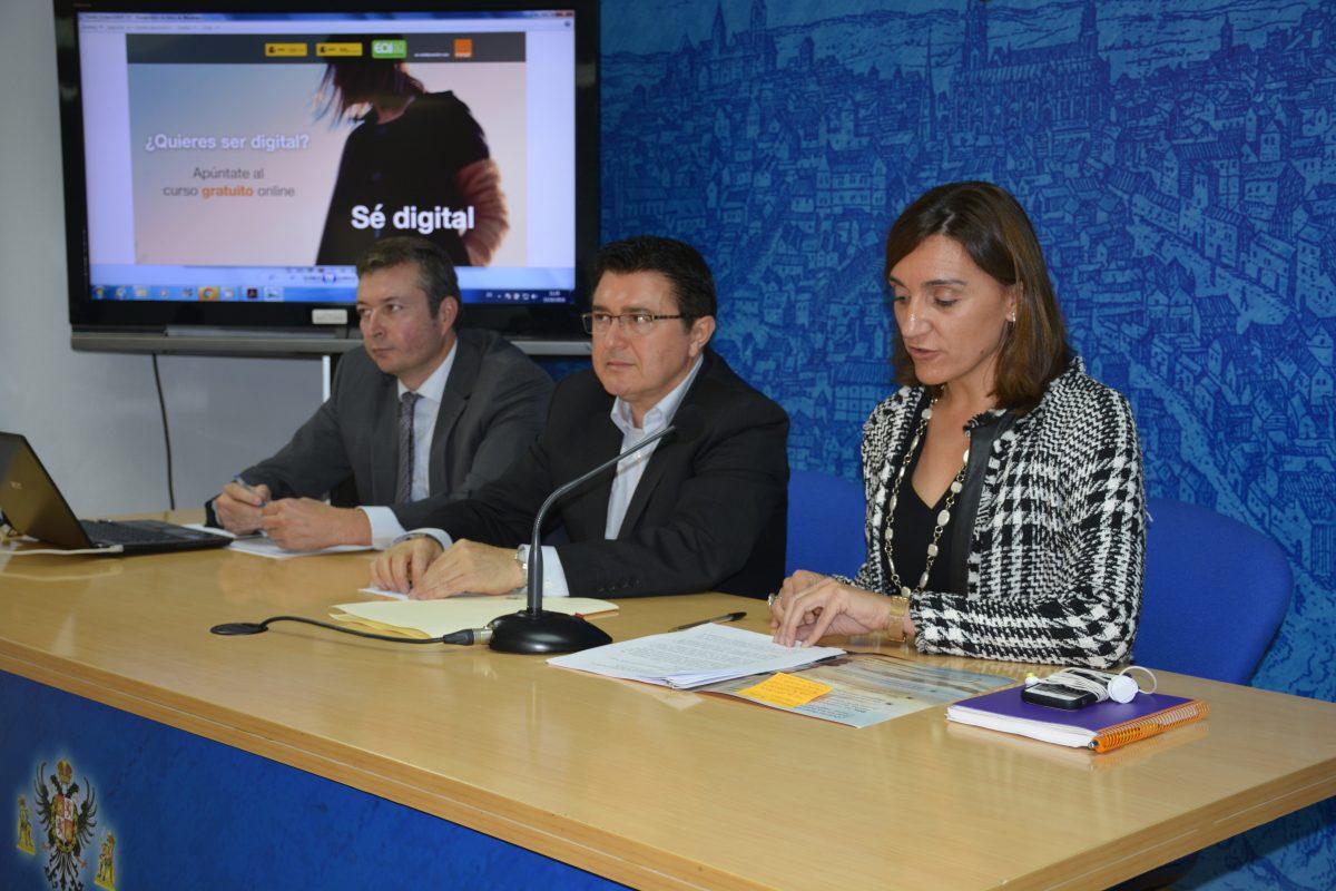 http://www.toledo.es/wp-content/uploads/2016/10/presentacion_se_digital-1200x800.jpg. Ayuntamiento, EOI y Orange colaboran para impulsar el emprendimiento y el talento digital de los toledanos