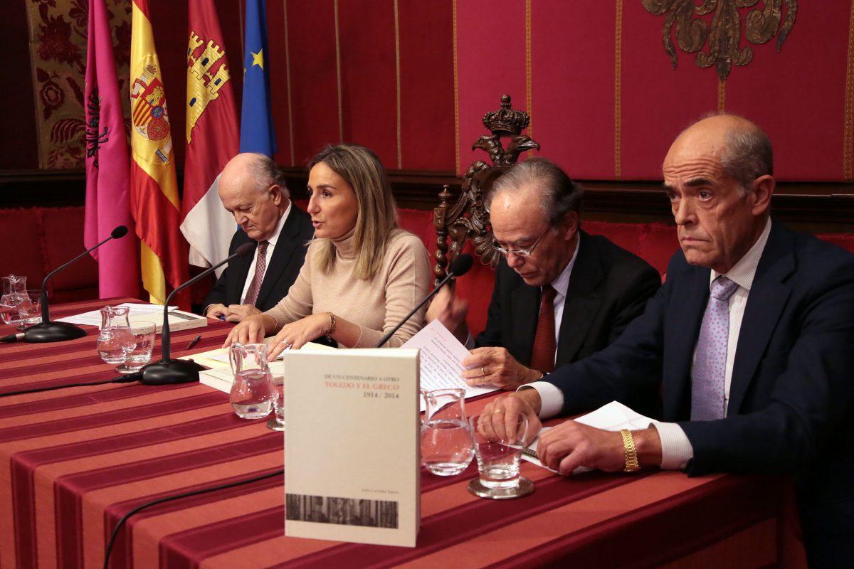 La alcaldesa destaca la movilización social e institucional que supuso para Toledo los centenarios del Greco
