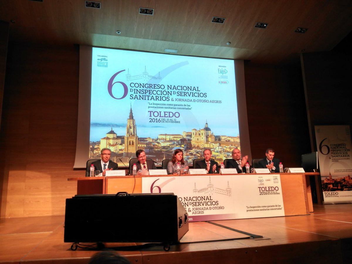 El Gobierno local participa en el VI Congreso Nacional de Inspección de Servicios Sanitarios que acoge Toledo