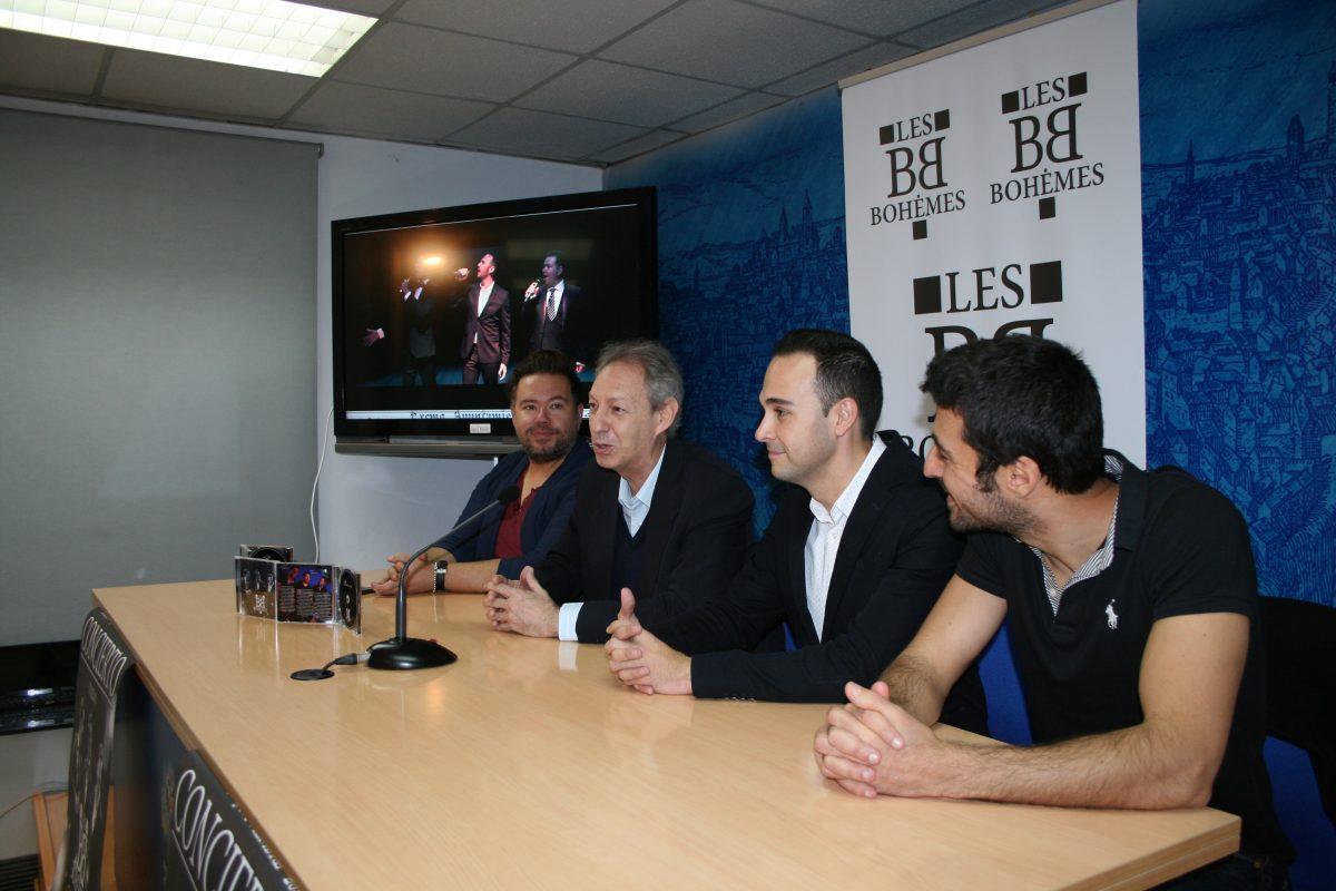 """El Ayuntamiento apoya la presentación del primer disco de """"Les Bohemes"""" y su concierto solidario del 5 de noviembre en Toledo"""