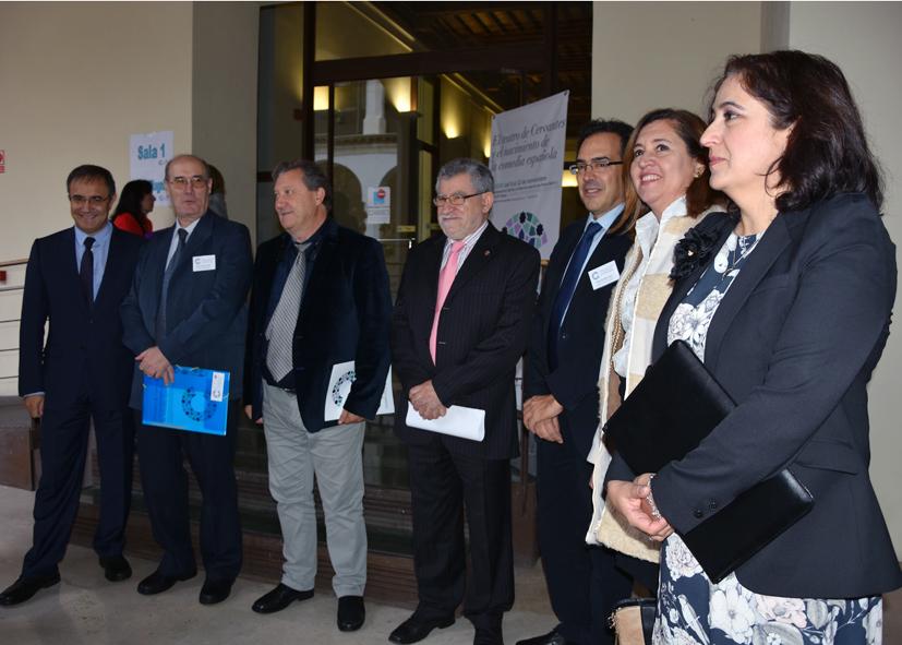 """Inaugurado el Congreso """"El teatro de Cervantes y el nacimiento de la comedia española"""" que cuenta con el apoyo del Consistorio"""