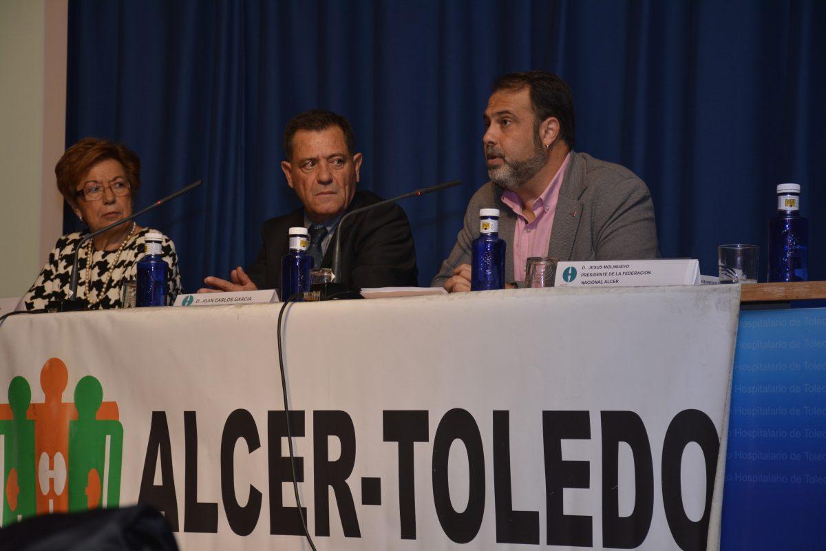 El Gobierno local ensalza el trabajo y la trayectoria de ALCER Toledo en la celebración de su 40 aniversario