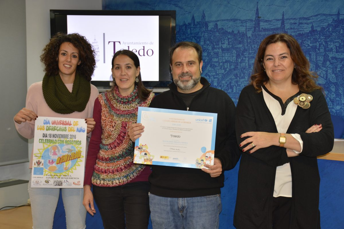 Toledo inicia un nuevo enfoque en políticas de infancia y plantea el Día Universal del Niño con múltiples actividades