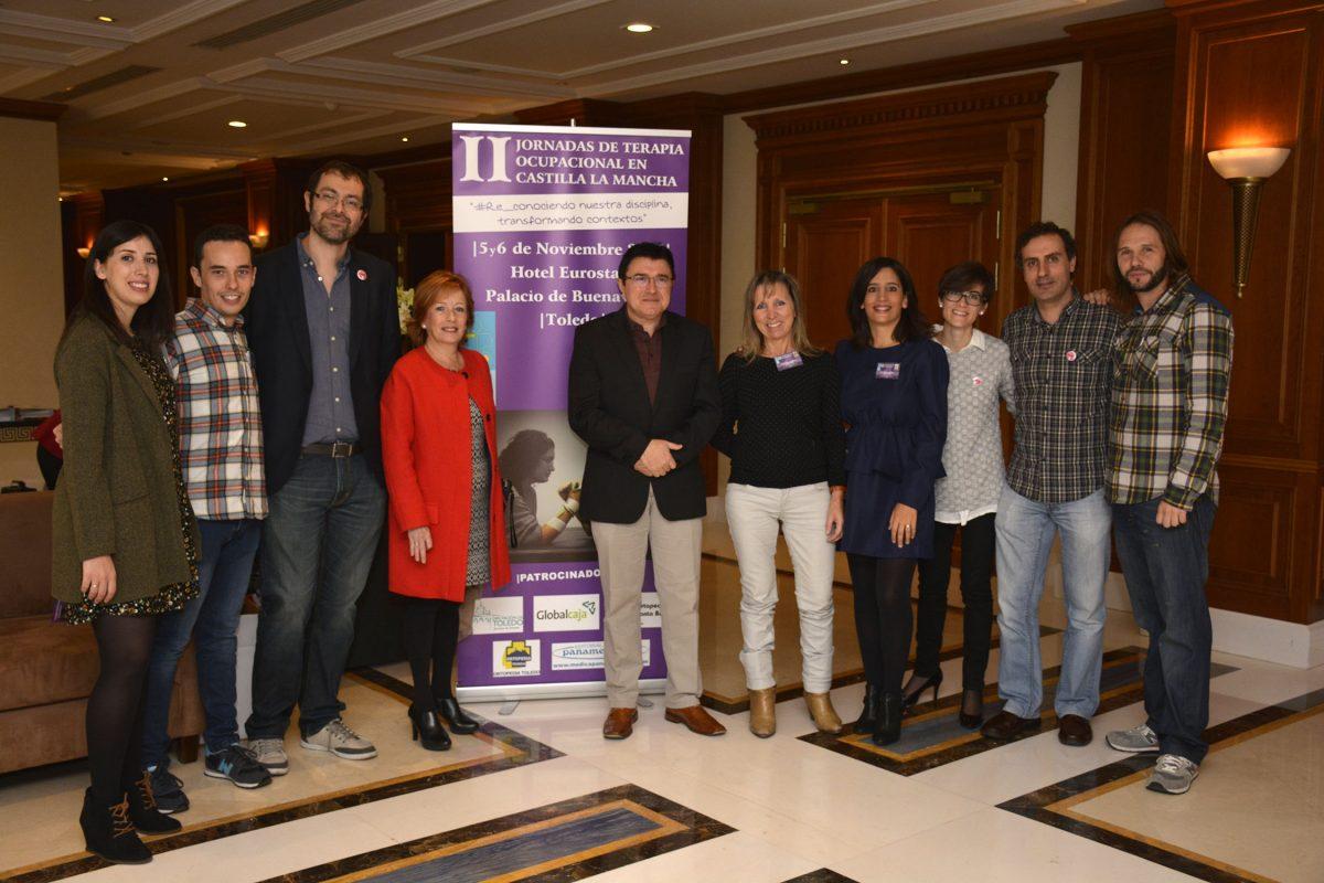 Toledo acoge las II Jornadas de Terapia Ocupacional en Castilla-La Mancha, que cuentan con apoyo municipal