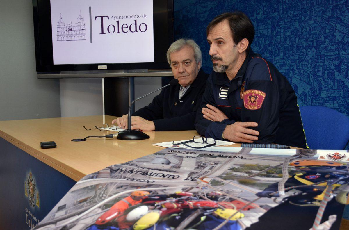 Alrededor de 75 bomberos consolidan la internacionalización de las Jornadas de Rescate en Altura, que cumplen su XII edición