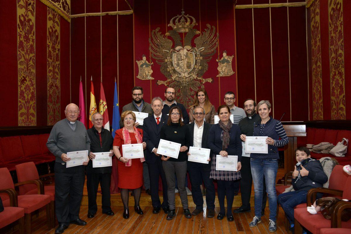 Entregados los premios del Concurso de Belenes 2015 / 2016