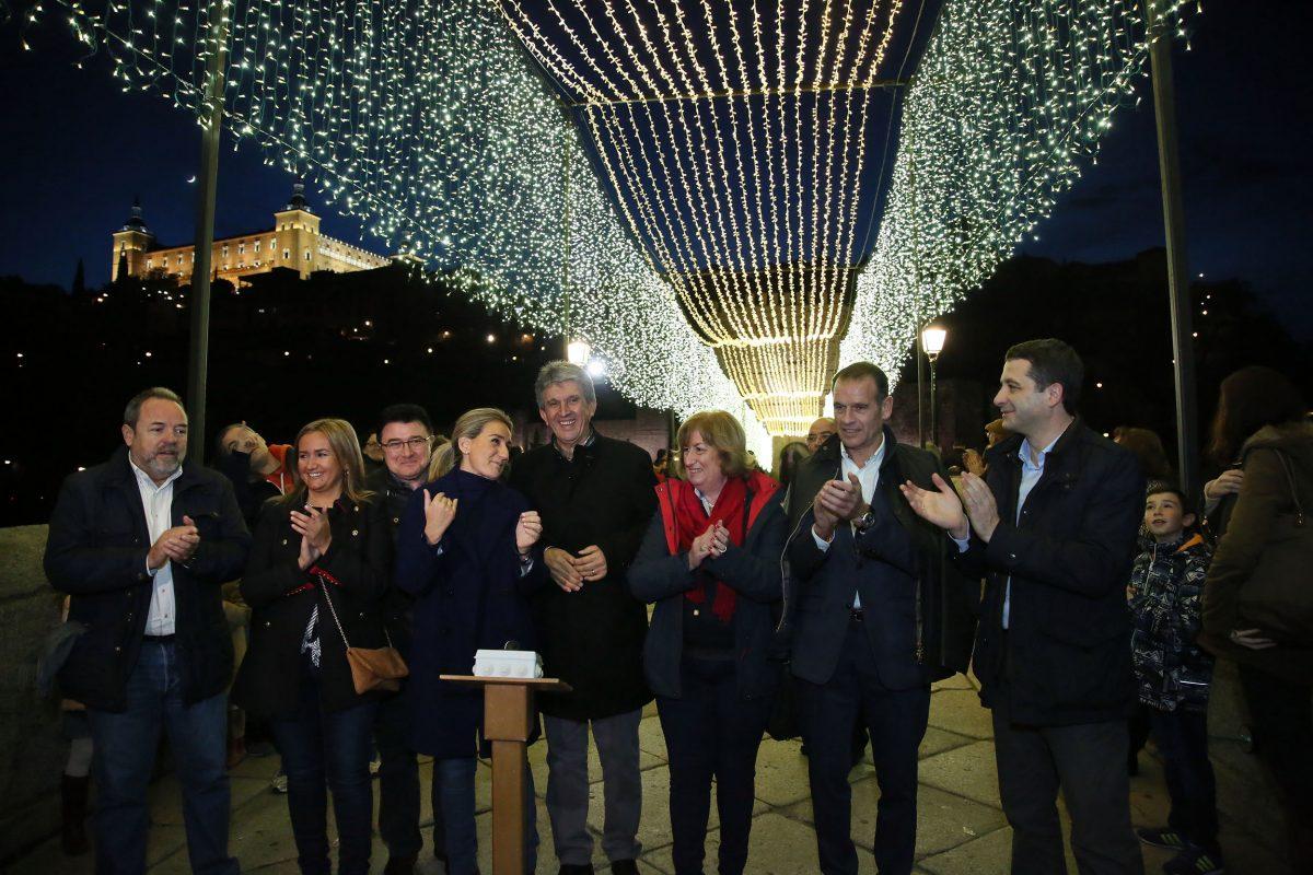 La alcaldesa llama a la participación de los toledanos en las actividades del programa de Navidad que hoy se inicia