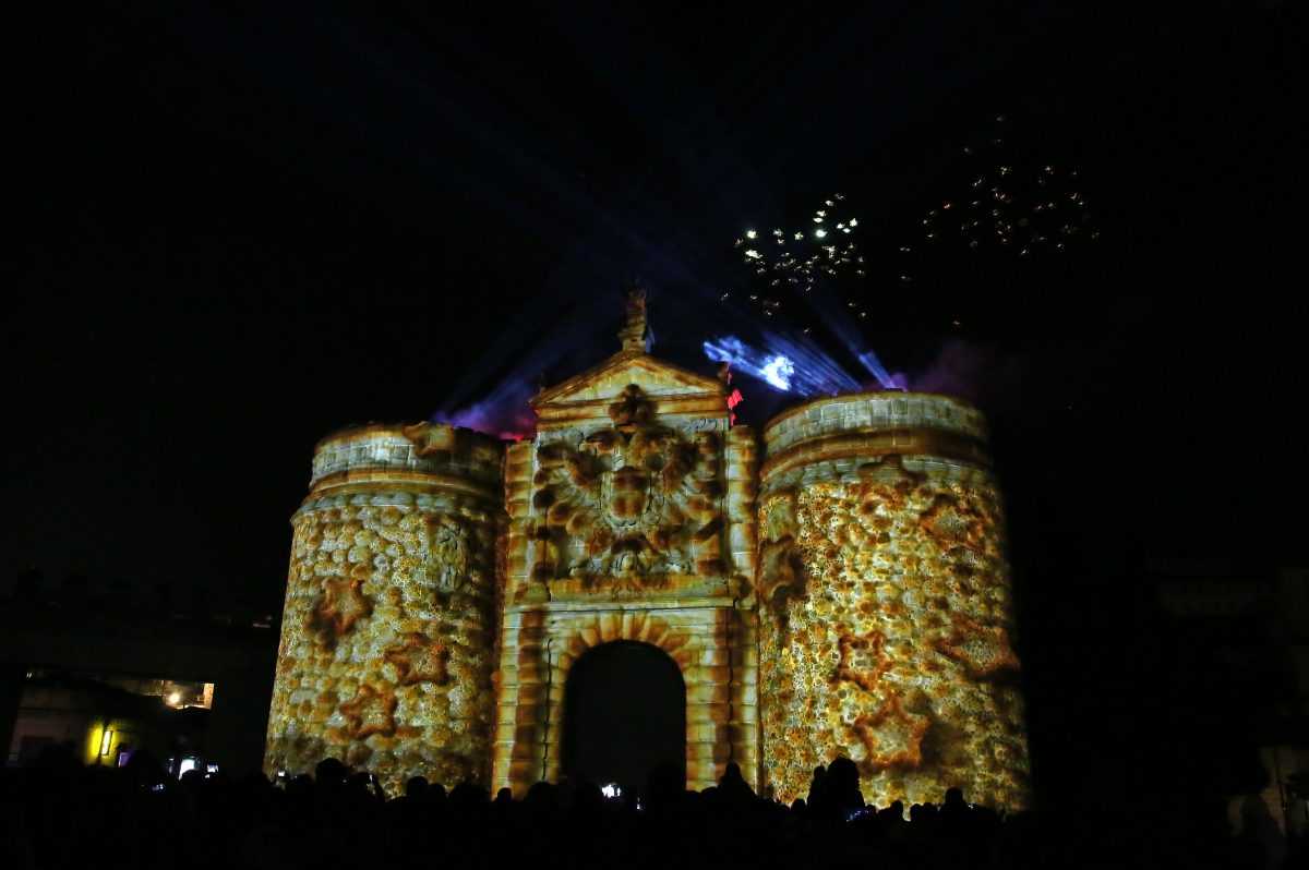 Toledo cierra el año gastronómico con un espectáculo vibrante en Bisagra e inicia la conmemoración como Ciudad Patrimonio