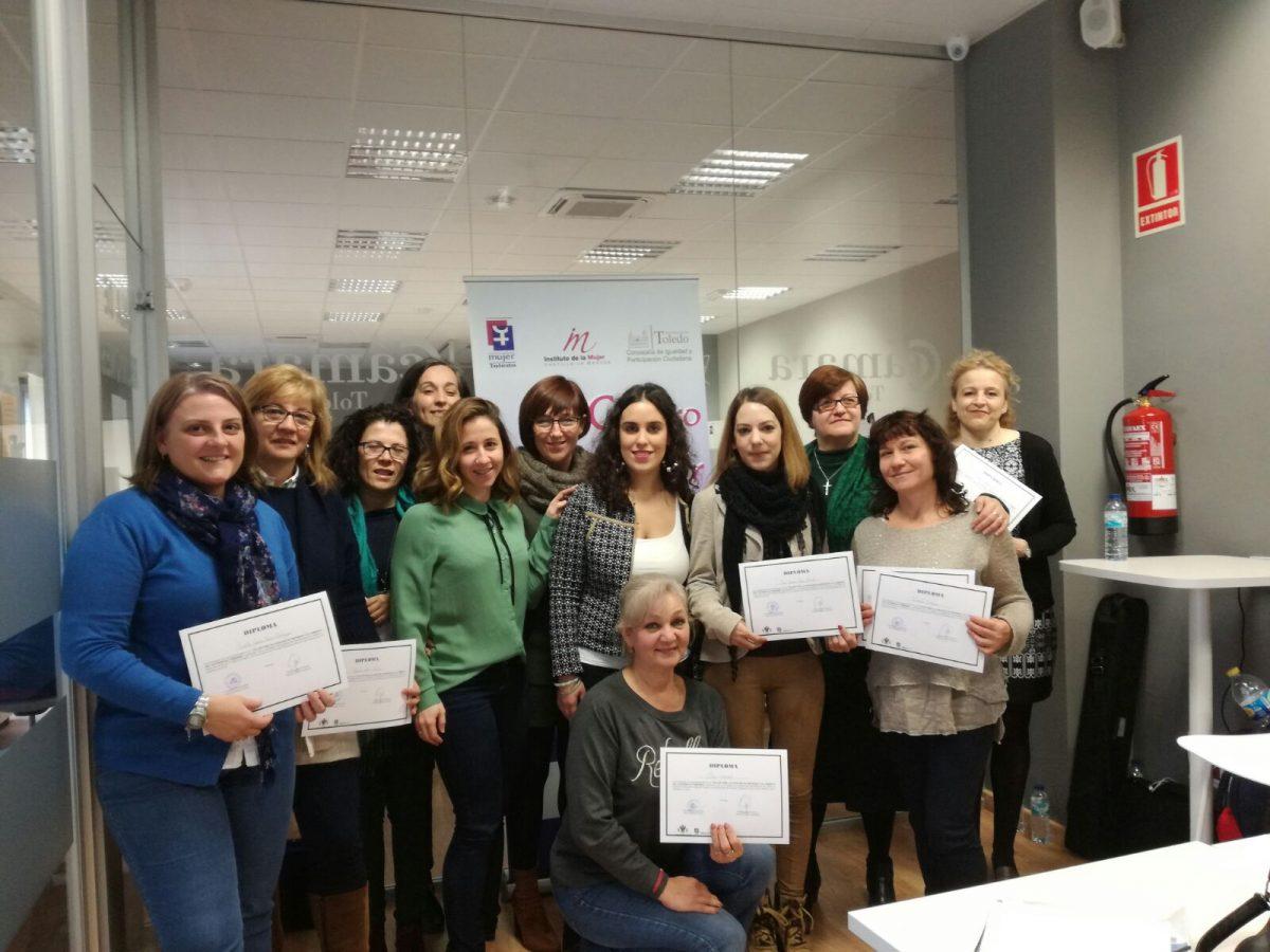 Gobierno local clausura taller de autoempleo femenino promovido por el Consistorio y en el que han participado 12 mujeres