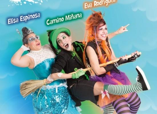 Ciclo Teatro y Danza en familia: Brujas madrinas