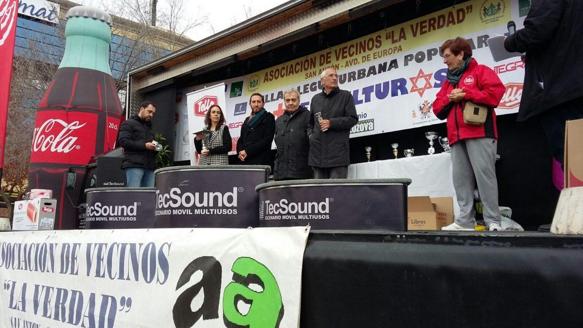 El Ayuntamiento colabora con la Asociación de Vecinos 'La Verdad' en la XVIII Carrera Urbana Popular Tres Culturas