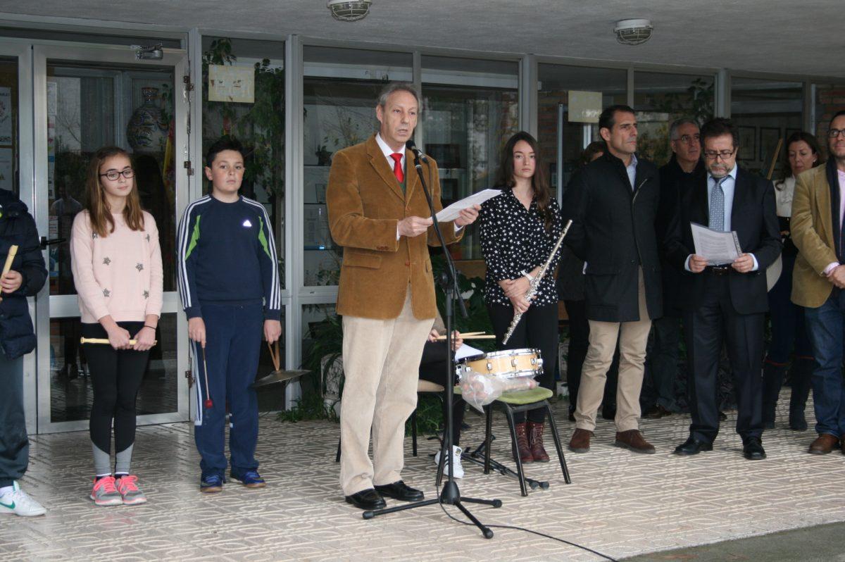 El vicealcalde participa en el acto del 'Día de la Constitución' convocado por el IES Universidad Laboral