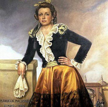 """MUSEO EN VIVO: """"Manuela Malasaña"""""""