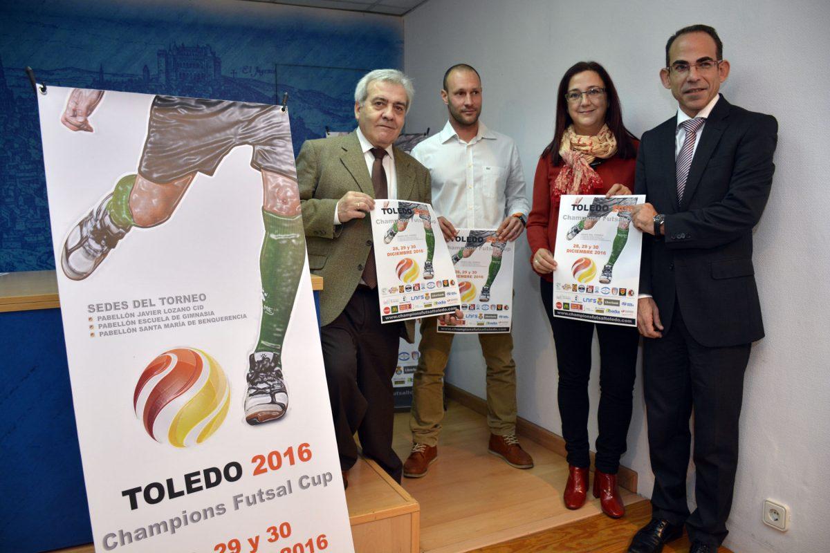 Toledo acogerá los días 28, 29 y 30 de diciembre la Champions Futsal Cup, con la participación del club femenino Futsi