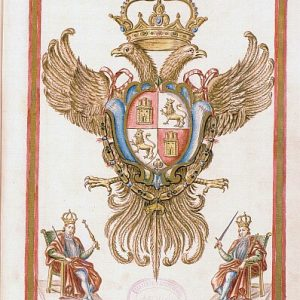 10 - Retratos de Reyes españoles en el Libro Cartulario