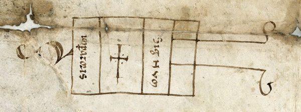 01 24-04-1136 Signo de Alfonso VII