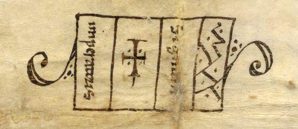 02 18-03-1137 Signo de Alfonso VII
