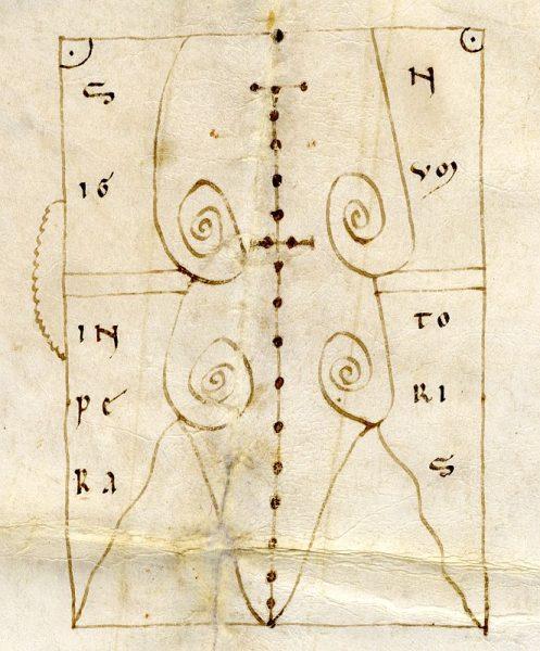 03 25-03-1155 Signo de Alfonso VII
